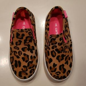 Carter's Toddler Leopard Slip Ons